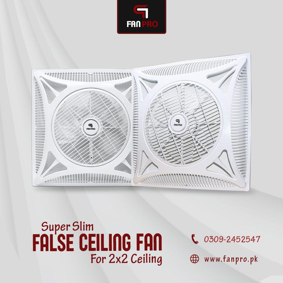 False Ceiling Fan Price in Pakistan