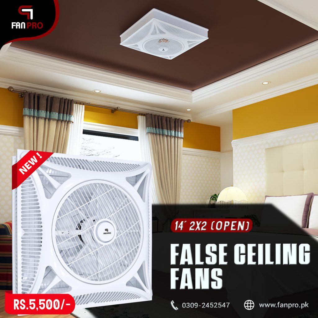 False Ceiling Fans Pakistan