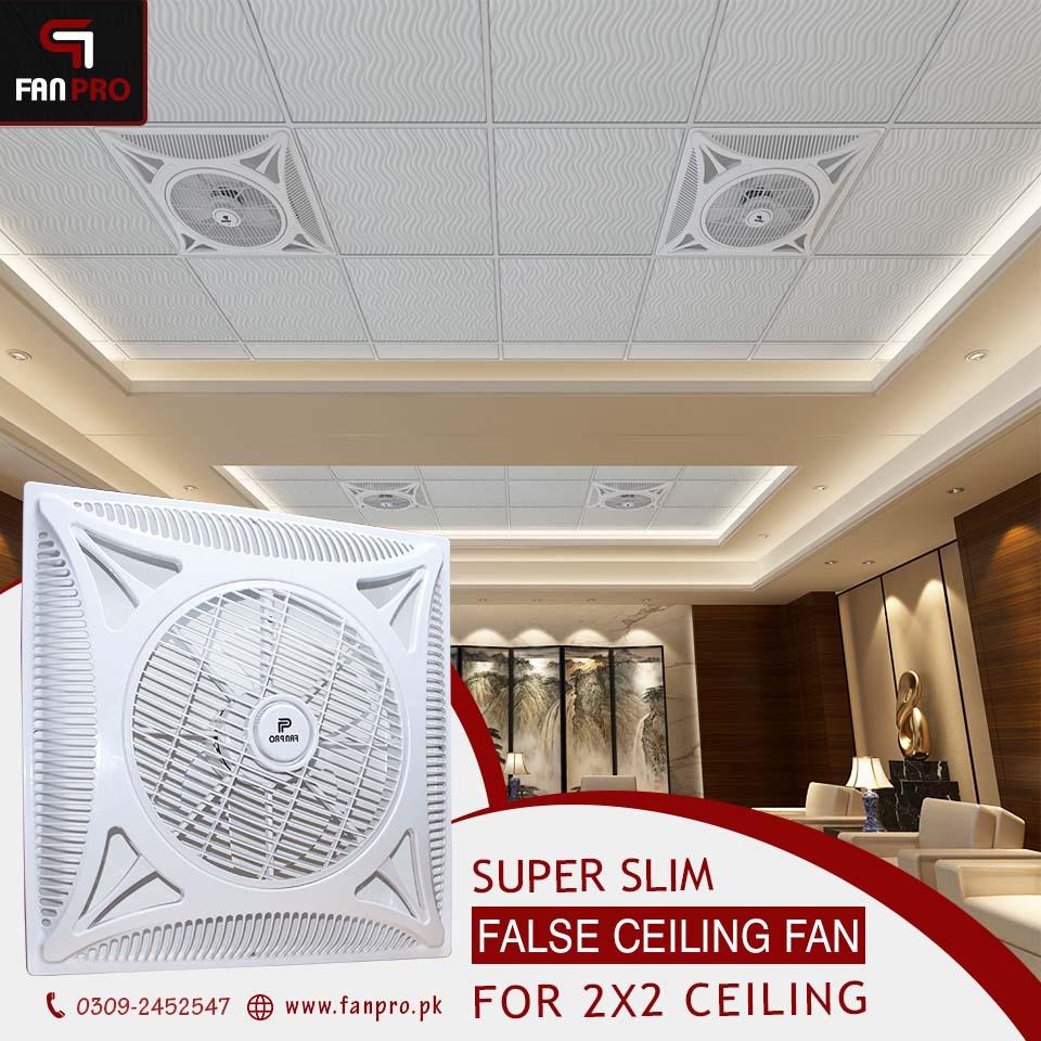 Cassette Type Ceiling Fan