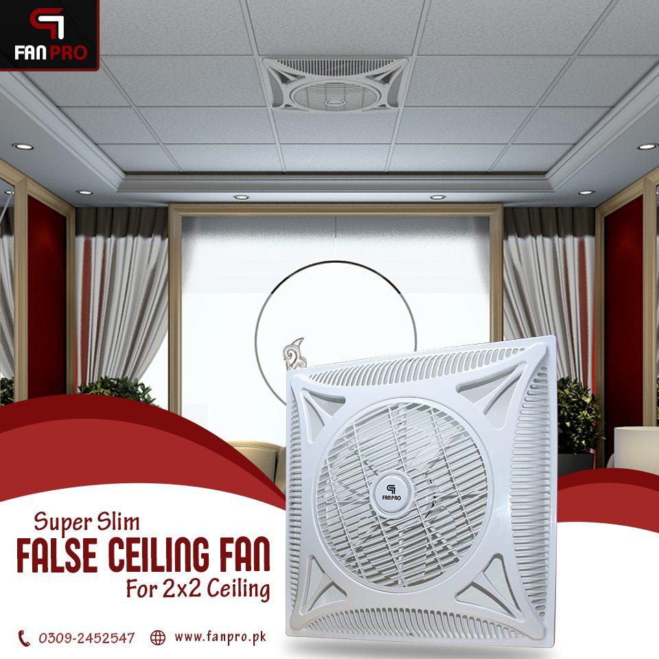 False Ceiling Fan Pakistan