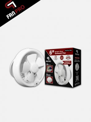 PanPro Window Glass Exhaust Fan 6 inch