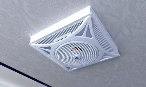 FanPro False Ceiling Fan 14 inch open