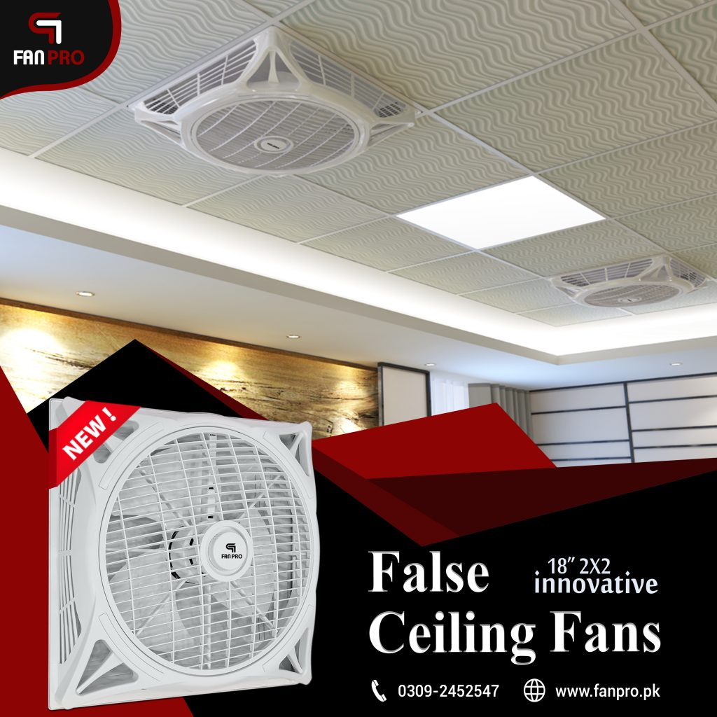 False Ceiling Fan 18 inches